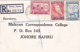 Malaya, Negri Sembilan 1965 Registered Cover - Negri Sembilan