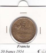 FRANCIA   50 FRANCS  1954  COME DA FOTO - M. 50 Franchi