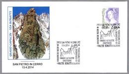 Homenaje Al Escalador WALTER BONATTI. San Pietro In Cerro, Piacenza, 2014
