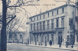 MONTPELLIER. - L'Hôtel De Ville. -  Cliché Rare - Montpellier