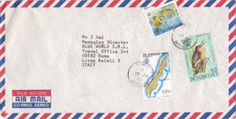 Seychelles 1983 Cover Sent To Italy - Seychelles (1976-...)