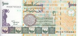 SUDAN 1000 DINARS 1996  P-59 UNC */* - Soudan