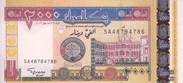 SUDAN 2000 DINARS 2002 P-62 UNC */* - Soudan