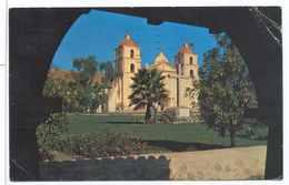 CPSM  California Mission Santa Barbara - Santa Barbara