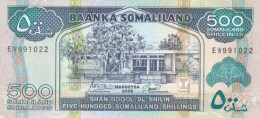SOMALIA SOMALILAND 500 Shilling 2006 P-6f UNC */* - Somalia