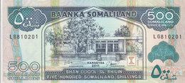 SOMALIA SOMALILAND 500 Shilling 2011 P-6h UNC */* - Somalia
