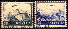 04460 Suíça Aéreos 42/43 Avião Em Sobrevôo U