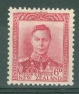 New Zealand: 1947/52   KGVI   SG683   6d      MNH - Nuovi