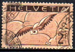 08867 Suiça Aéreo 15b Carta Alada Papel Ordinario U