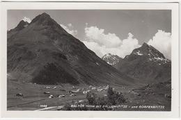 Galtür 1600 M Mit Ballunspitze - Und Gorfenspitze    - (Tirol) - Galtür
