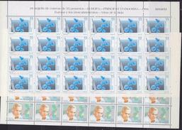 Europa Cept 1994 Andorra Sp. 2v  Sheetlets (unfolded)  ** Mnh (F6231) - Europa-CEPT