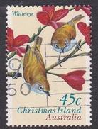 Christmas Island ASC 389 1996 Land Birds 45c White-Eye Used - Christmas Island