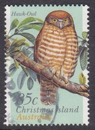 Christmas Island ASC 390 1996 Land Birds 85c Hawk-Owl Used - Christmas Island