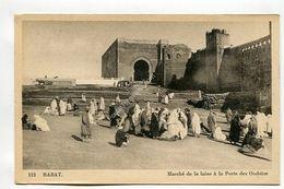 RABAT Marche De La Laine A La Porte Des Oudaias - Rabat