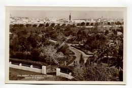 RABAT, Vue Generale Du Jardin Public Et La Medina - Rabat