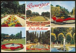 BOURGES - 4930 .- Le Jardin Des Prés Fichaux - Bourges
