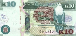 ZAMBIA 10 KWACHA 2012 (2013) P-51a UNC [ZM154a] - Sambia