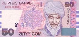 KYRGYZSTAN 50 COM (SOM) 2002 P-20 UNC [ KG214a ] - Kirgisistan