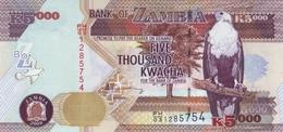 ZAMBIA 5000 KWACHA 2009 P-45e UNC [ZM147e] - Zambie