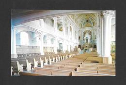 CAPE BRETON - NOUVELLE ÉCOSSE - NOVA SCOTIA - INTÉRIEUR DE L'ÉGLISE ST PIERRE - ST PETER'S CHURCH - PHOTO BY J. URQUHART - Cape Breton