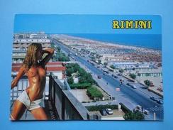 Rimini - Pin Up - Panorama - Mare, Spiaggia E Alberghi - Rimini