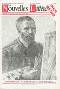 LES NOUVELLES LITTÉRAIRES N°2309 24 Décembre 1971 SPECIAL VAN GOGH - RICHELIEU - LAFORET - GOSCINNY - IKOR - MONTHERLANT - Periódicos