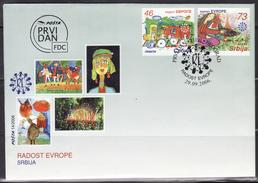 Serbia, 2006, Joy Of Europe, FDC - Servië