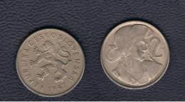 CHECOSLOVAQUIA  - 2 Koruna  1947  KM23 - Checoslovaquia