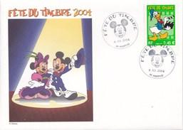 ENVELOPPE FETE DUTIMBRE2004 PERTUIS 06/03/2004 (dil296) - Disney