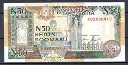 460-Somalie Billet De 50 Shillings 1991 A020 Neuf - Somalie