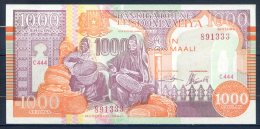 498-Somalie Billet De 1000 Shillings 1990 C444 Neuf - Somalia