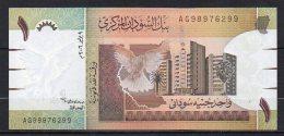 523-Soudan Billet De 1 Pound 2006 AG989 Neuf - Soudan