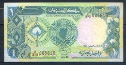 506-Soudan Billet De 1 Pound 1985 C272 - Soudan