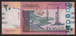 528-Soudan Billet De 20 Pounds 2006 EB868 - Soudan