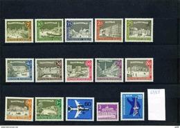 Berlin Jahrgang 1962/63 Komplett 217/32, Postfrisch, MNH ** - Ungebraucht