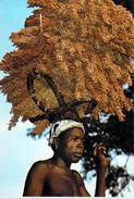 Afrique (Burkina Faso ) HAUTE VOLTA  (1) En Pays Turka Lourde Mais Précieuse Récolte De Sorgho *PRIX FIXE - Burkina Faso