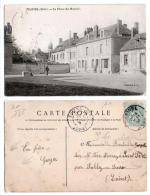 (10) 186, Trainel, Collection SL, La Place Du Marché, état - Altri Comuni