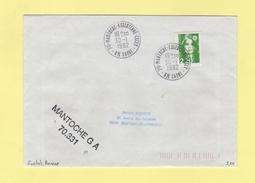 Mantoche - Essertene - Cecey - Haute Saone - 70331 GA Guihet Annexe - 30-1-1992 - Storia Postale