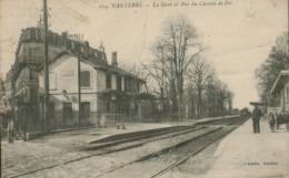 92 - Nanterre - La Gare Et Rue Du Chemin De Fer - Nanterre