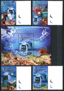 VANUATU 2004 Marine Life, Diving, Fishes, Fauna MNH
