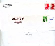 Lettre Cachet Annulation Thann - Manual Postmarks