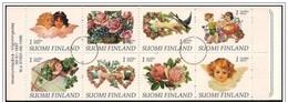 Finlandia/Finland/Finland E: Specimen, Libretto, Booklet, Carnet, Augurali, Timbres Cartes, Stamps Cards