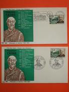 FRANCE 1ER JOUR 1966 - Série Célébrités N°1470/75 Sur 8 Enveloppes Avec 1er Jour De Flamme.  Superbe - 1960-1969