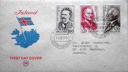 Iceland 1979    MiNr.547-549  ( Lot 2999 ) - FDC