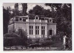 Cartolina/postcard REGGIO EMILIA - Villa Ferri Ricchi - Il Padiglione (Stile Trianon) - Reggio Emilia