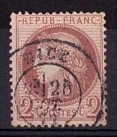 France - Cérès N° 51 - Cachet à Date Nice - 1871-1875 Ceres