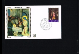 Religion - Paintings & Sculptures - FDC Ireland 1981 [EG010]