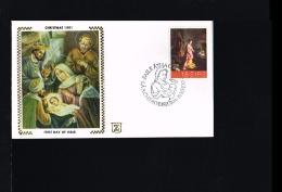 Religion - Paintings & Sculptures - FDC Ireland 1981 [EG011]