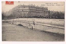 Crue De La Seine De 28 Janvier 1910 - Niveau De L'eau à La Poitrine Du Zouave Du Pont De L'Alma - E.L.D. - - Inondations De 1910