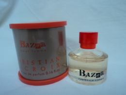 """CHRISTIAN LACROIX : """" BAZAR"""" MINI EDP  5 ML LIRE ET VOIR !!! - Miniatures Modernes (à Partir De 1961)"""
